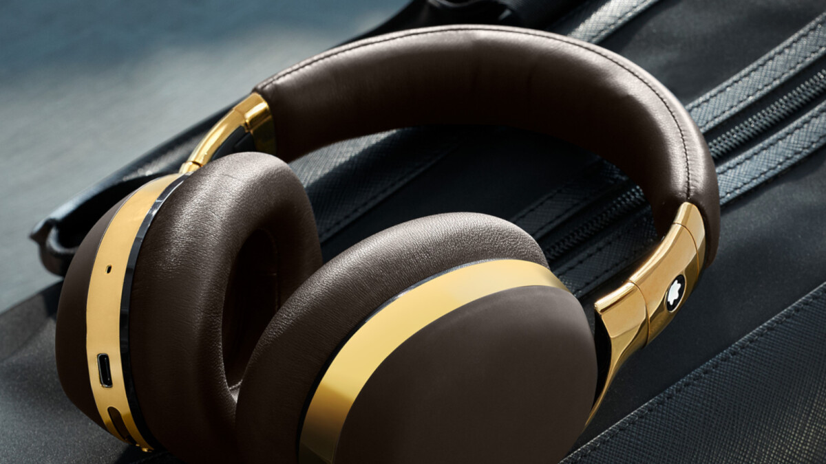 Unsurprisingly, Montblanc's first wireless headphones cost a small fortune