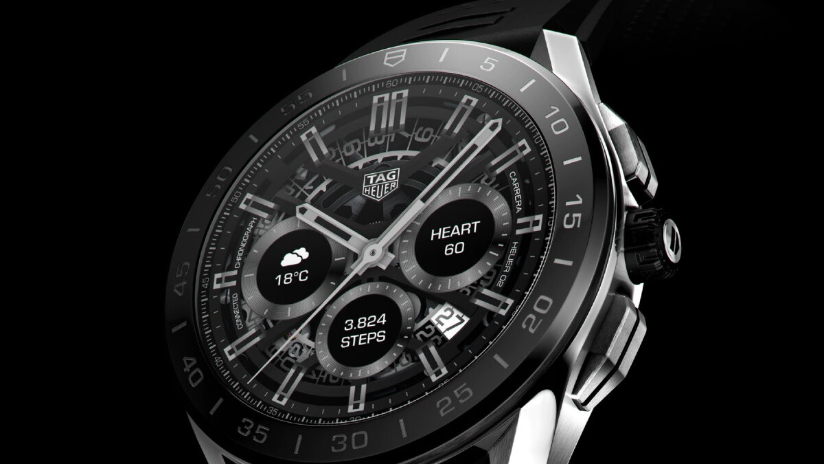 Here is TAG Heuer's New $1800 Connected Smartwatch
