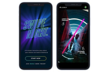 Tinder delays global release of Swipe Night, its interactive adventure experience