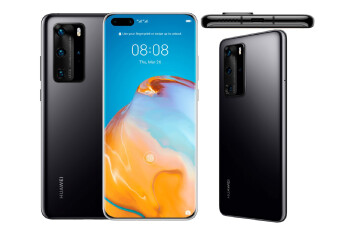 Leaked Huawei P40 series marketing images show off devices, official colors