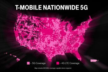 T-Mobile quietly expanded its 'nationwide' 5G network in even more places recently