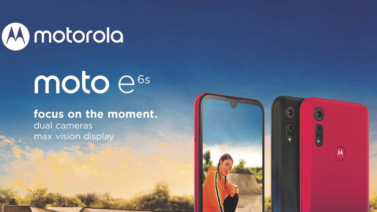 Motorola's newest ultra-affordable phone sports a modern design and dual camera setup