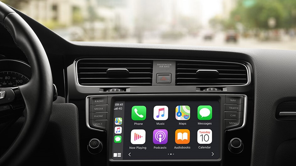 Apple wants to use your car's dashboard to display directions and news