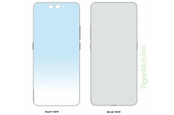 Xiaomi patents wild vertical folding phone design
