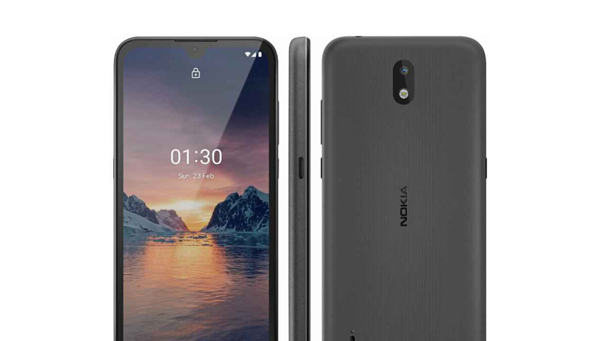 Budget Nokia 1.3 leaks in full with notched display, Google Assistant button