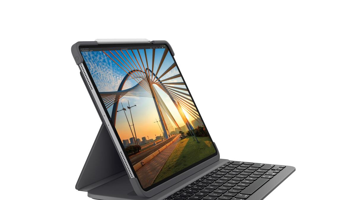 Logitech announces an iPad Pro keyboard case much cheaper than the Magic Keyboard