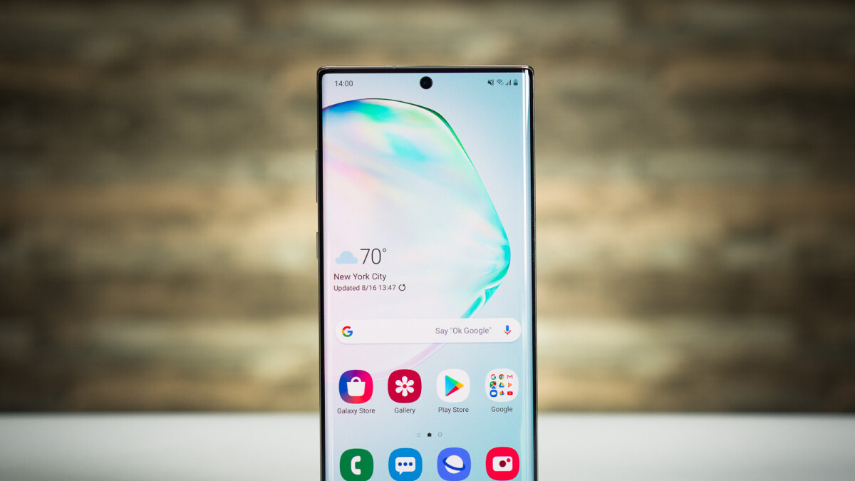 The Galaxy Note 10 is crazy cheap at BT and ships with a free case