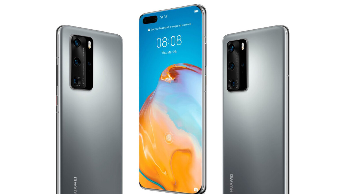 Huge Huawei P40 & P40 Pro 5G leak reveals every last detail
