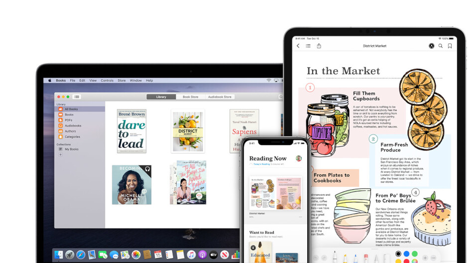 Apple starts offering free books and audiobooks to users in the US