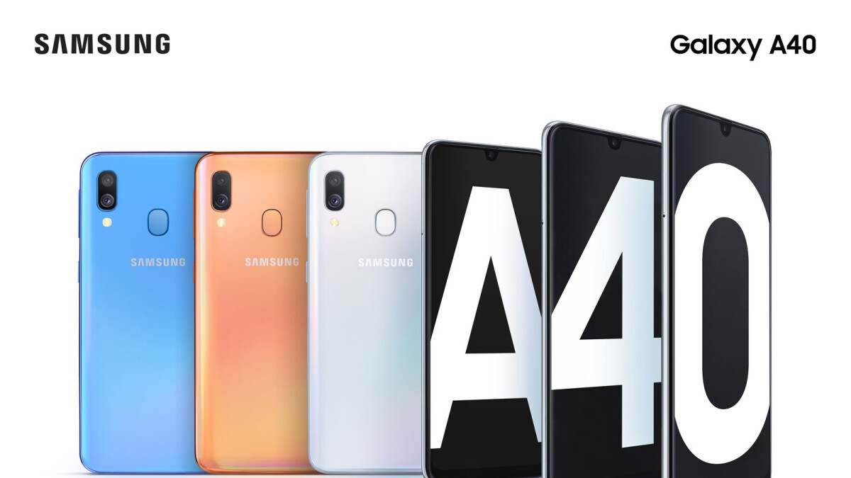 Buy the Galaxy A40 and save £36 on tariffs at Tesco Mobile