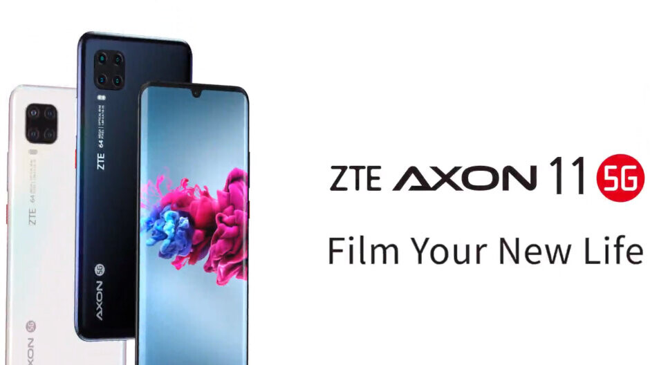 ZTE Axon 11 5G officially unveiled, a mid-ranger with lots of premium features