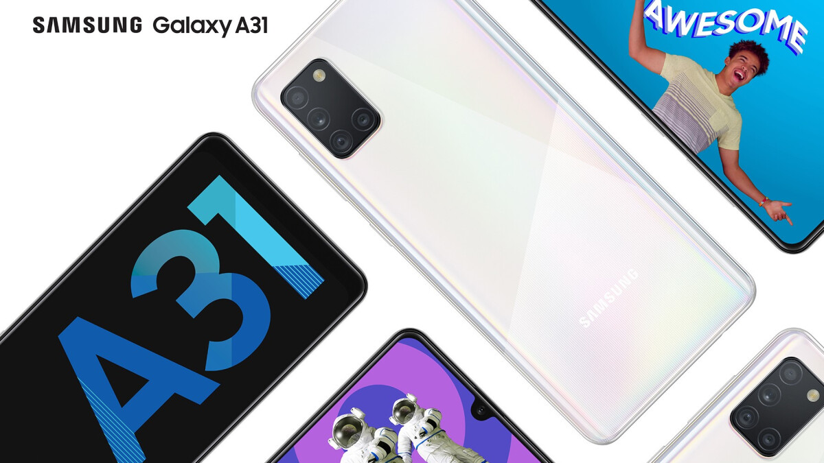 Samsung Galaxy A31 arrives with 48MP quad-camera, huge battery, AMOLED display
