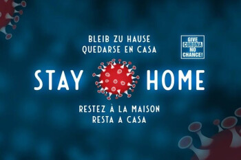 """Telecoms want you to stay home, show a """"stay home"""" message on phones"""
