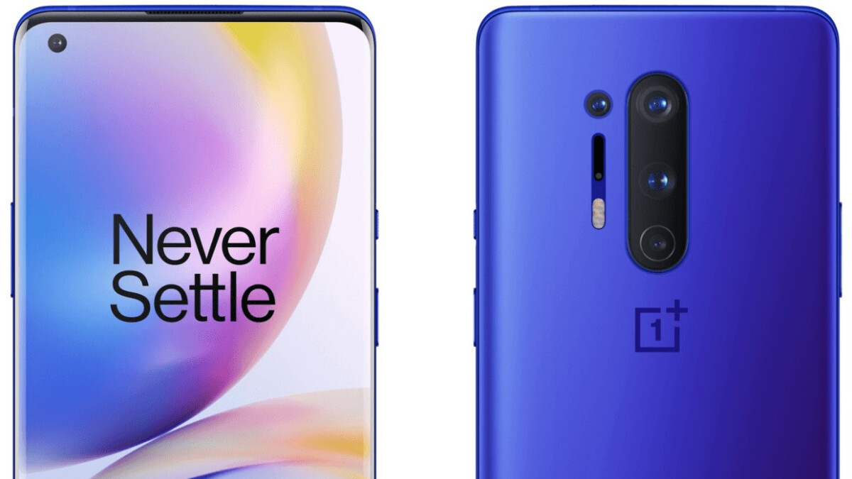 Take a look at the OnePlus 8 Pro 5G in all official colors