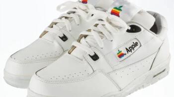 Winning bidder spends $10,000 on a pair of Apple branded sneakers