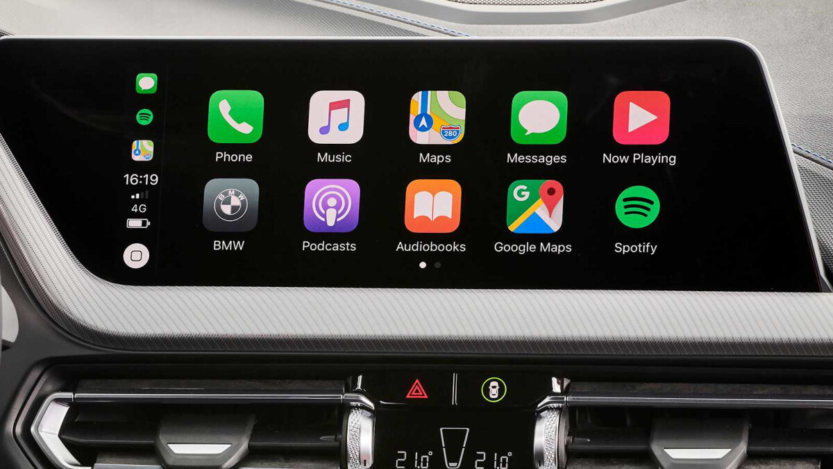 iOS 13.4: Apple's CarPlay now allows third-party map apps to be used with the split-screen feature
