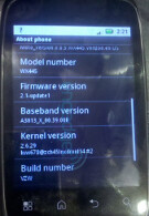 Verizon to offer low-end Motorola Android device with the WX445?