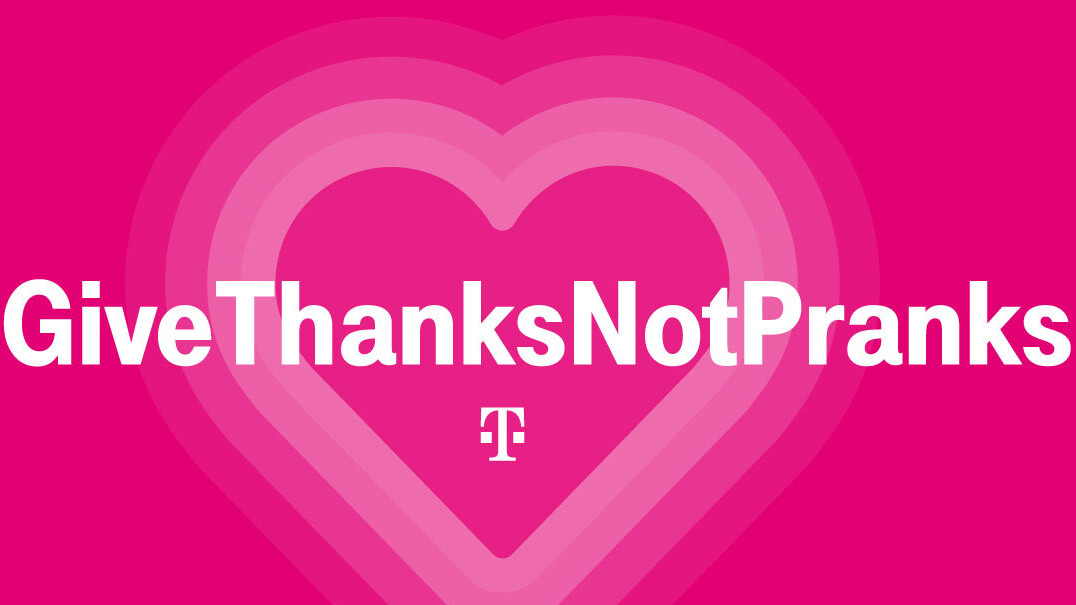 T-Mobile's #GiveThanksNotPranks April's Fools campaign will match your coronavirus donations