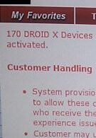 170 Motorola DROID X handsets were shipped out early - they can now be activated