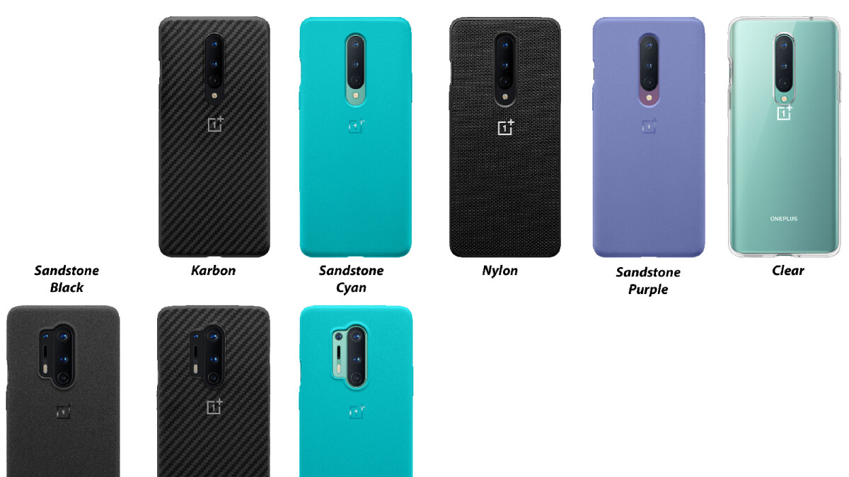 Several official OnePlus 8 5G & 8 Pro 5G cases have leaked