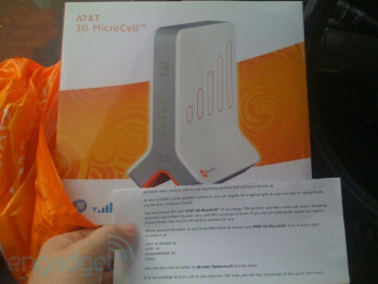 AT&T rewards some loyal customers with a femtocell