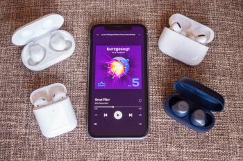 Samsung Galaxy Buds Vs Airpods Pro Airpods Jabra Elite Active 75t Phonearena