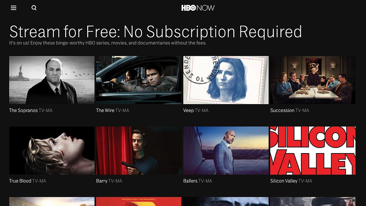 HBO's best shows like Sopranos, Succession, or The Wire, are now free for the coronavirus quarantine