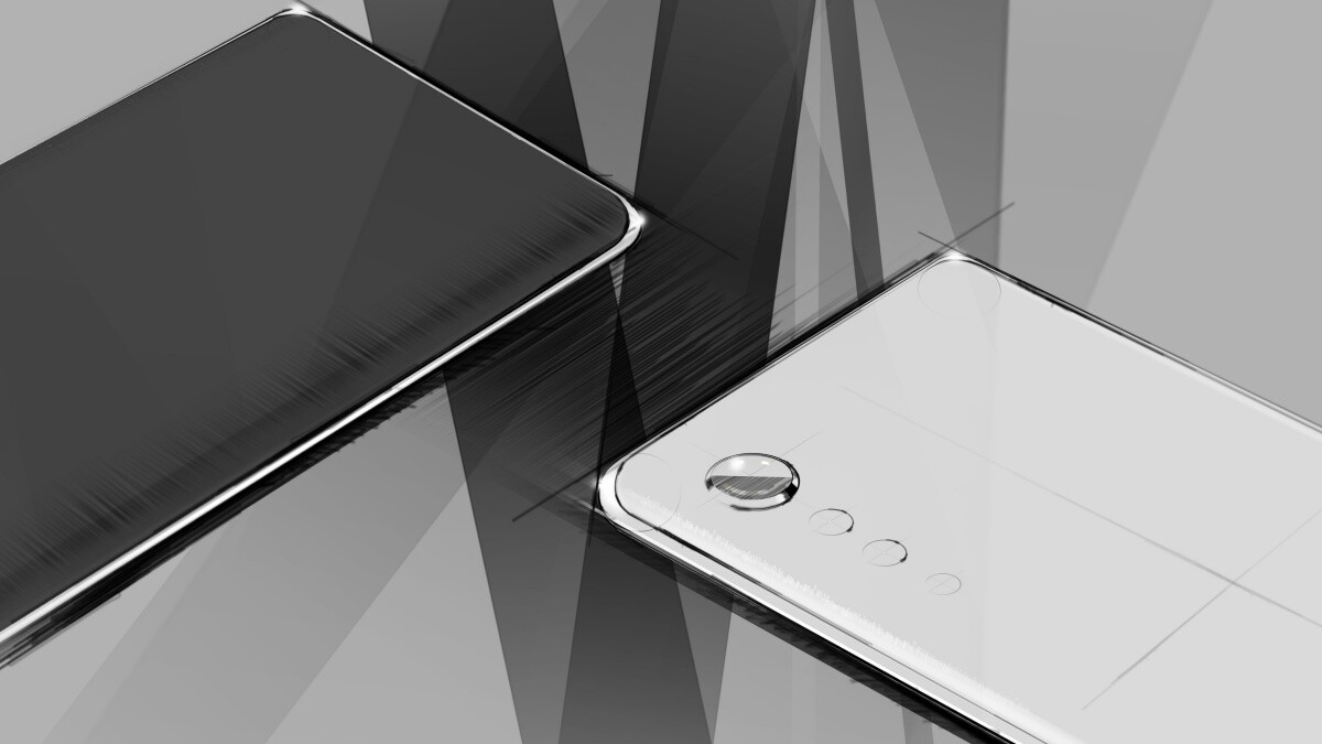 LG's next high-end phone will have a 'Raindrop' camera, curved edges