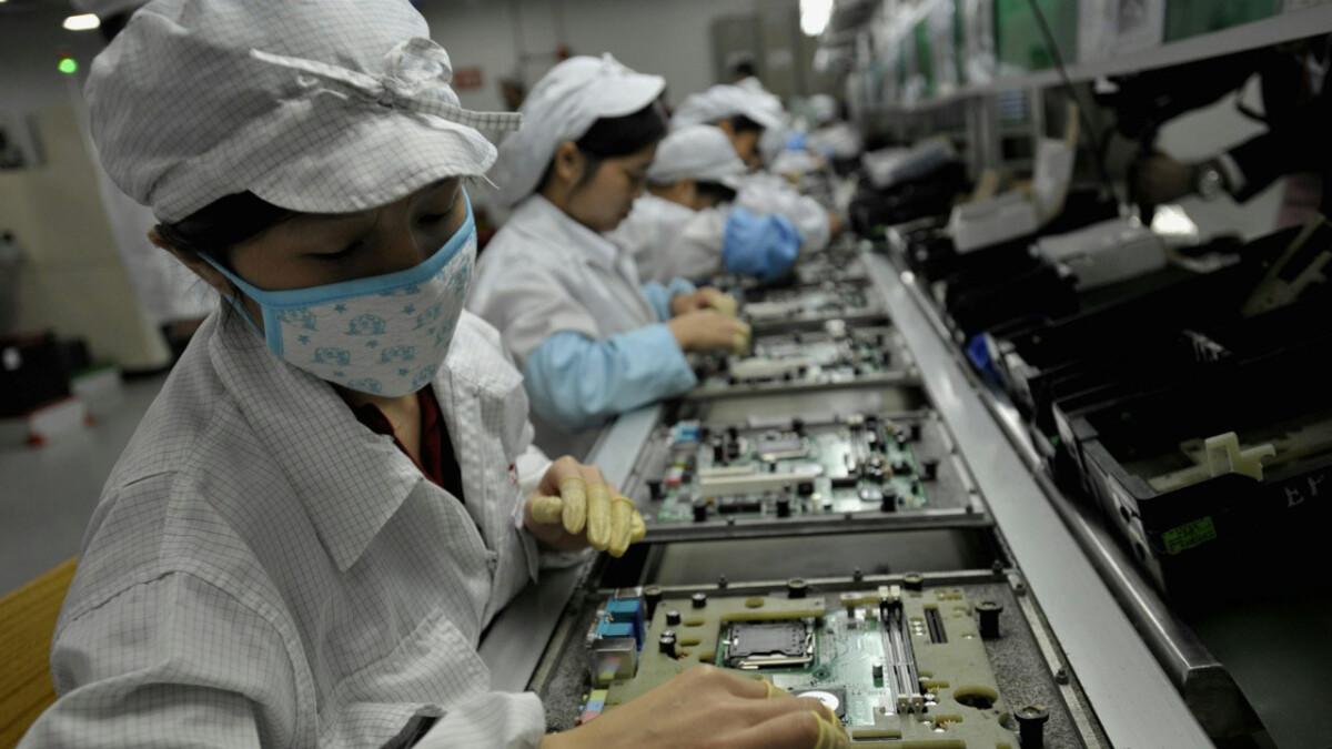 Apple supplier Foxconn takes coronavirus precautions to the next level