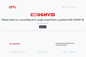 Coughvid claims to detect COVID-19 by listening to your coughs