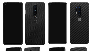 Real OnePlus 8 Pro 5G image appears, along with cases, prices, and the camera specs