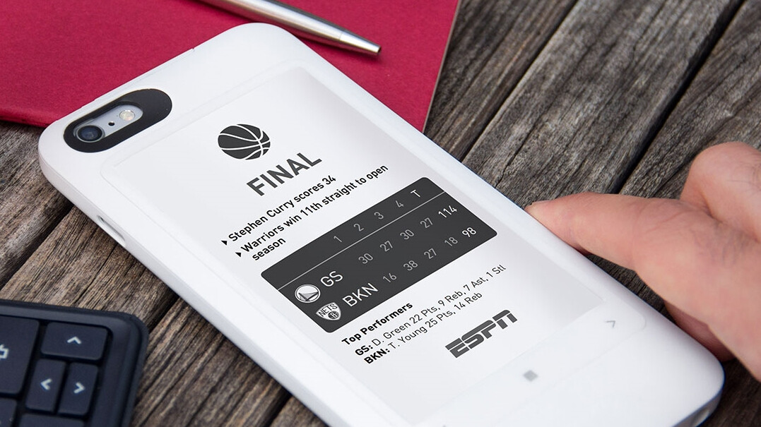 World's first E-ink smartphone with colors is going to be announced next week