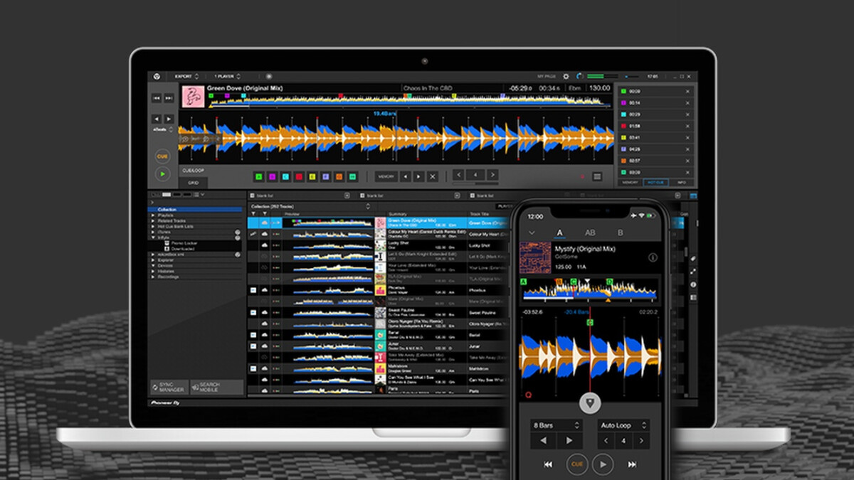 Rekordbox DJ app from Pioneer now allows for Dropbox cloud syncing