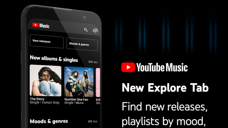 YouTube Music gains new Explore tab in latest update