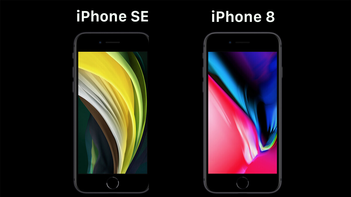 iPhone SE (2020) vs iPhone 8: differences