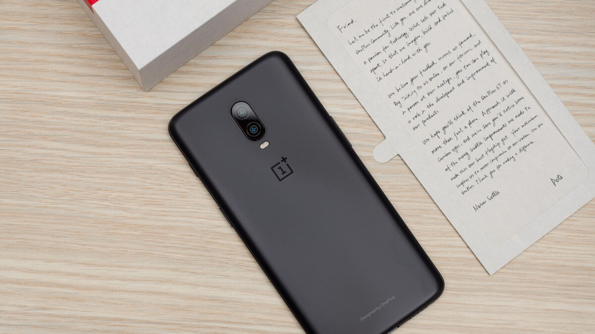 The outstanding OnePlus 6T is on sale at a lower than ever price (new with warranty)
