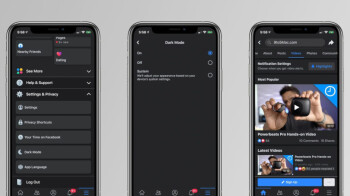 Leaked screenshots show dark mode for Facebook on iOS devices