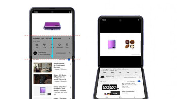 The YouTube app gets Flex mode support for the Galaxy Z Flip