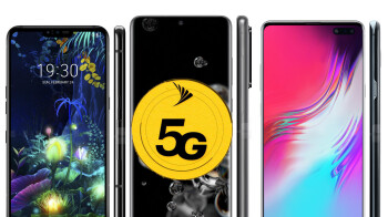 Here are Sprint's Samsung, LG and OnePlus 5G phones that will and won't work on T-Mobile