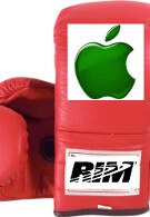 """RIM angry at Apple over press conference; calls use of BlackBerry phone """"unacceptable"""""""