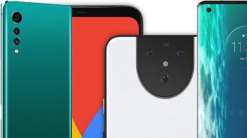 LG Velvet vs Motorola Edge vs Google Pixel 5, battle of the affordable 5G
