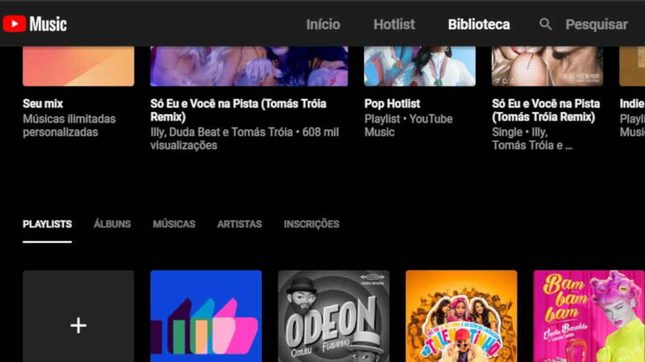 YouTube Music gets improved, easier to explore library on Android