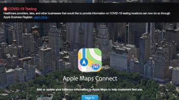Apple Maps now displays coronavirus testing locations across the US
