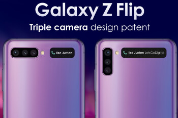 Galaxy Z Flip 2 will likely have a triple camera system, larger front display