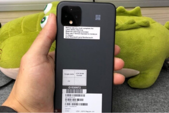 Google Pixel 4 XL prototype is wearing a color you've never seen on this phone