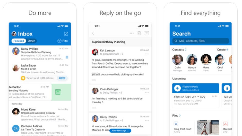 Outlook's anti-spam feature available on Android finally arrives on iOS
