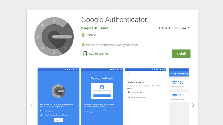 Important changes are coming to Google Authenticator on Android devices