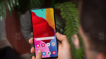 Samsung Galaxy A51 starts getting the April 2020 security update with One UI 2.1
