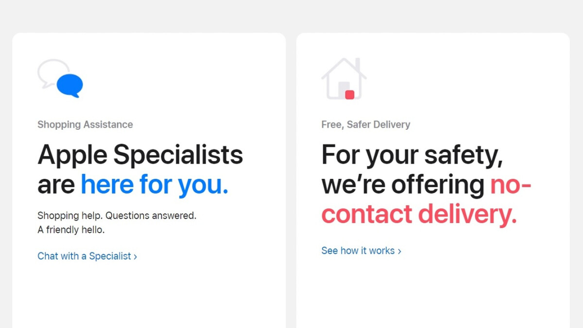 Apple Store Online is the company's new way of helping you shop from home
