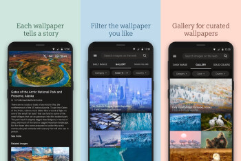 Microsoft's newest Android app Bing Wallpapers features 10 years worth of images